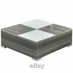 14Pcs Outdoor Wicker Sofa Set Patio Rattan Sectional Furniture Garden Deck Couch