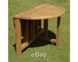 48 Round Butterfly Table A Grade Teak Garden Outdoor Dining Furniture Patio