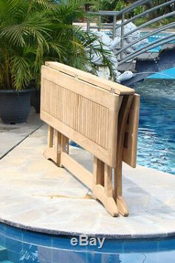 69 Warwick Table A Grd Teak Wood Garden Outdoor Dining Console Furniture Patio