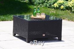 6 PC Patio Sectional Sofa Set Rattan Wicker Furniture Conversation Set Outdoor
