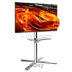 Fleximounts C01 LED LCD outdoor patio TV Cart Stand Mount Shelf 32 40 46 50 60
