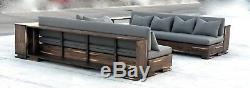 The Habana Collection-Outdoor or Indoor Sofa Set-Restoration Hardware Style NICE