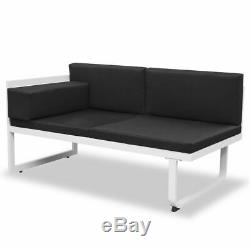 VidaXL 13 Piece Garden Sofa Set Textilene Aluminum Outdoor Patio Seat Chairs